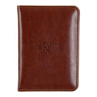 Customized Forum RFID Passport Cover - Faux Leather
