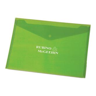 Customized Snap-It Tranlucent Envelope