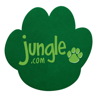 Customized Paw Print Mouse Pad - .25 Thickness