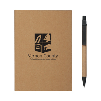 Customized MeetingMate Notebook with Pen and Sticky Flags