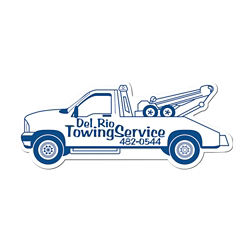 Customized Tow Truck Shaped Magnet