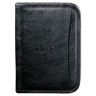 Customized DuraHyde Jr. Zippered Padfolio
