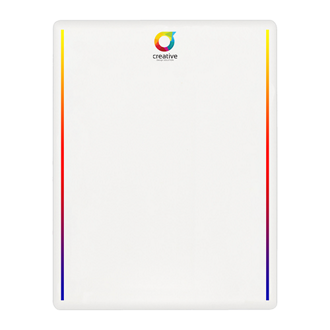 Customized Dry-Erase Mirage Board™ - 15 pt
