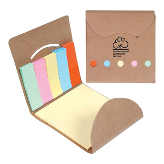 Customized Pocket Sticky Note Memo Book