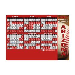 Customized Baseball Sports Schedule Magnet