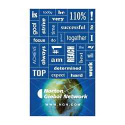 Customized 30 Words Message Magnet