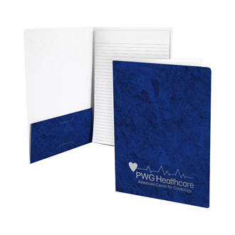 Customized Foil Stamped Classic Padfolios