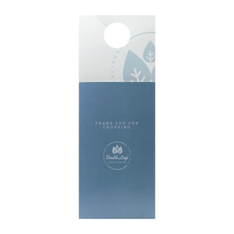 Customized Pocket Door Hangers
