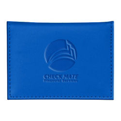 Customized Soft Touch Business Card Wallet - RFID