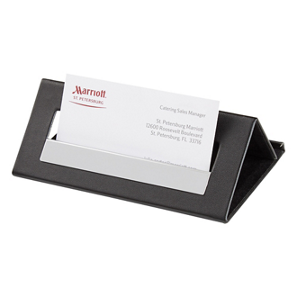 Customized Executive Card Holder & Media Stand