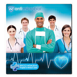 Customized BIC® Antimicrobial Mouse Pad