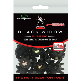 Customized Softspikes® Black Widow Cleats - 25 Changes
