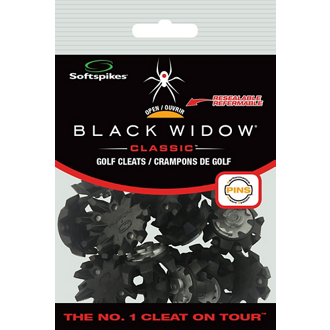 Customized Softspikes® - Black Widow Cleats - Large - 1 Kit
