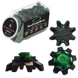 Customized Softspikes® - Black Widow Cleats - Fast Twist