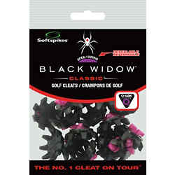Customized Softspikes® - Black Widow Cleats - Q-Fit - 1 Kit
