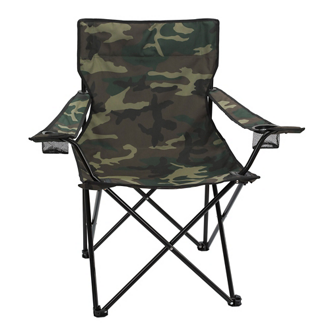 Customized Camo Folding Chair with Carrying Bag