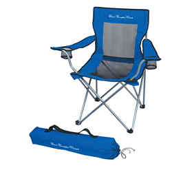 Customized Mesh Folding Chair with Carrying Bag