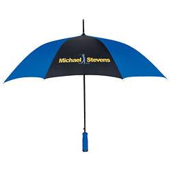 Customized Two-Tone Straight Handle Nylon Umbrella