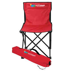 Customized Price Buster Folding Chair with Carrying Bag