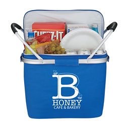 Customized Picnic Fun Kooler Basket