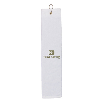 Customized Folded Golf Towel