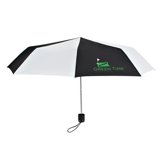 Customized Compact Telescoping Umbrellas with Logo