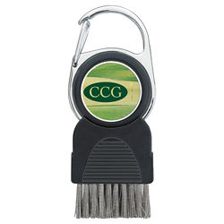 Customized Golf Club Brush with Ball Marker