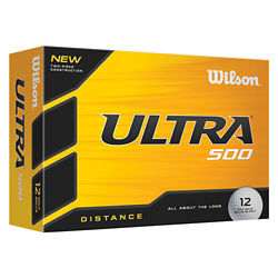 Customized Wilson® Ultra 500 Distance Golf Ball Std Serv