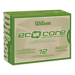 Customized Wilson® Eco Core Golf Ball Std Serv