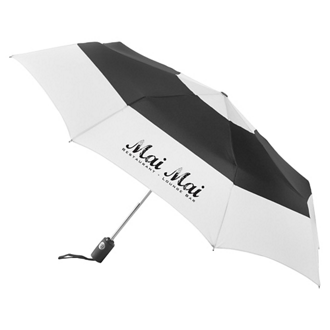 Customized totes® Auto Open/Close Color Block Umbrella