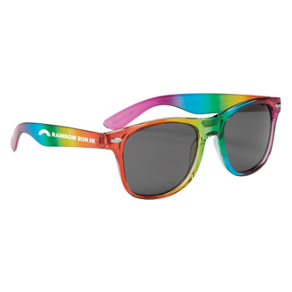 Customized Rainbow Malibu Sunglasses