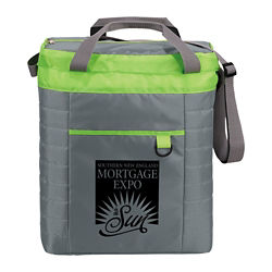 Customized Insulated Quilted Event Cooler - 36 Cans