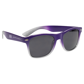 Customized Gradient Two Tone Malibu Sunglasses