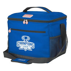 Customized Coleman® 24-Can Cooler with Side Mesh Pockets