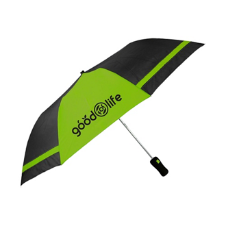 Customized Wedge Jr Auto Open Folding Umbrella