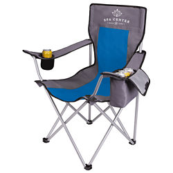 Customized KOOZIE® Kamping Chair with Cooler