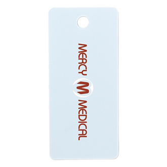 Customized Large Rectangle Pet ID Tag - Full Color