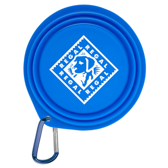 Customized Collapsible Pet Bowl with Carabiner