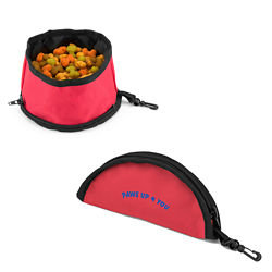 Customized Food-to-Go Travel Pet Bowl