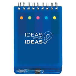 Customized Spiral Jotter with Sticky Notes, Flags and Pen