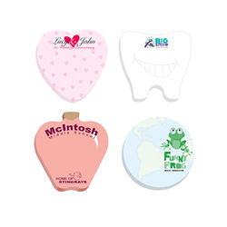Customized 3x3 Adhesive Die-Cut Notepads, Circle