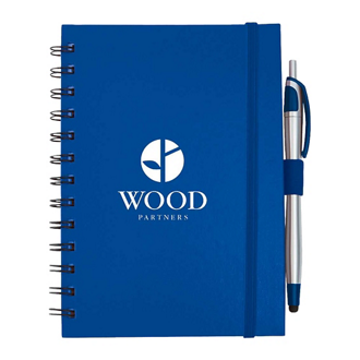 Customized Inspiration Spiral Notebook with Pen/Stylus