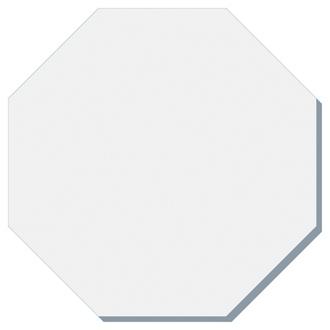 Customized BIC® 3x3 Die Cut Sticky Notepad-50 Sheet-Octagon