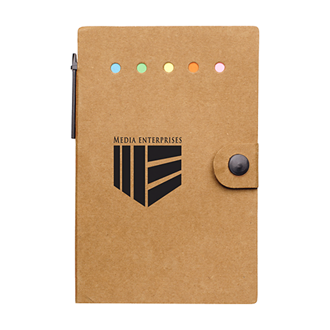 Customized Small Snap Notebook with Desk Essentials