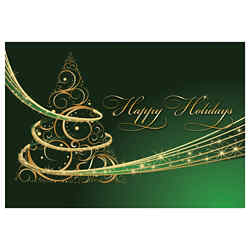 Customized Greeting Card - Holiday Magic