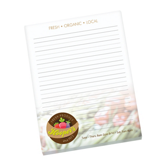 Customized BIC® 25 Sheet Non-Adhesive Scratch Pad - 8.5