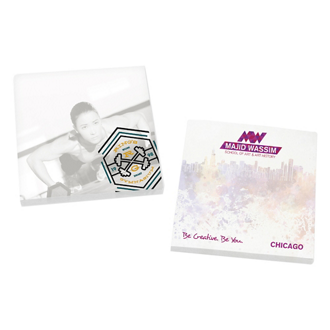 Customized BIC® Adhesive 50 Sheet Notepad - 3