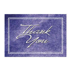 Customized Thank You Card