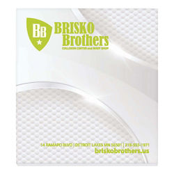 Customized BIC® Adhesive 25 Sheet Notepad - 2 3/4