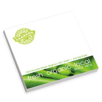 Customized BIC® Adhesive 25 Sheet Notepad - 3